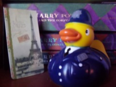 Inspector Fish n' Chips Rubber Ducky