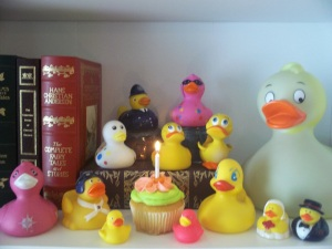 Happy 1st BDay Rubber Ducky
