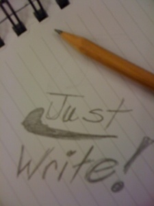 Rubber Ducky says Just Write