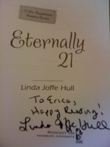 Linda Joffe Hull Autograph