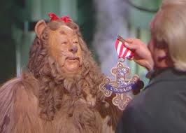Cowardly Lion Badge of Courage