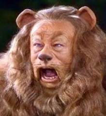 The Cowardly Lion, Wizard of Oz