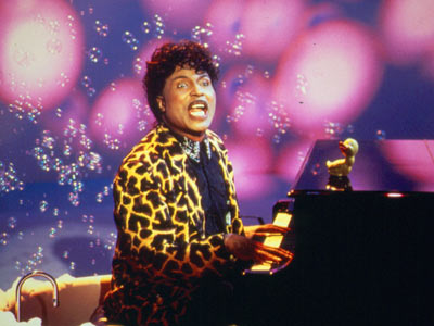Little Richard signing Rubber Ducky song