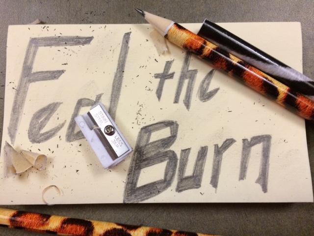 Writers Feel the Burn