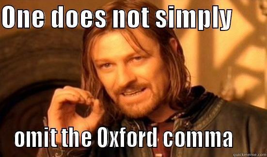 LOTR Comma