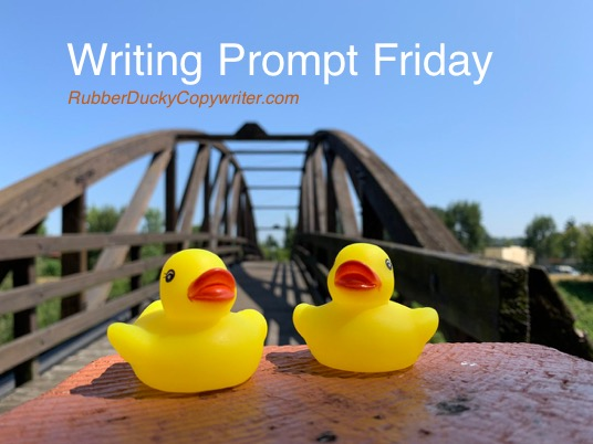 Rubber Ducky Copywriter - Writing Prompt Friday